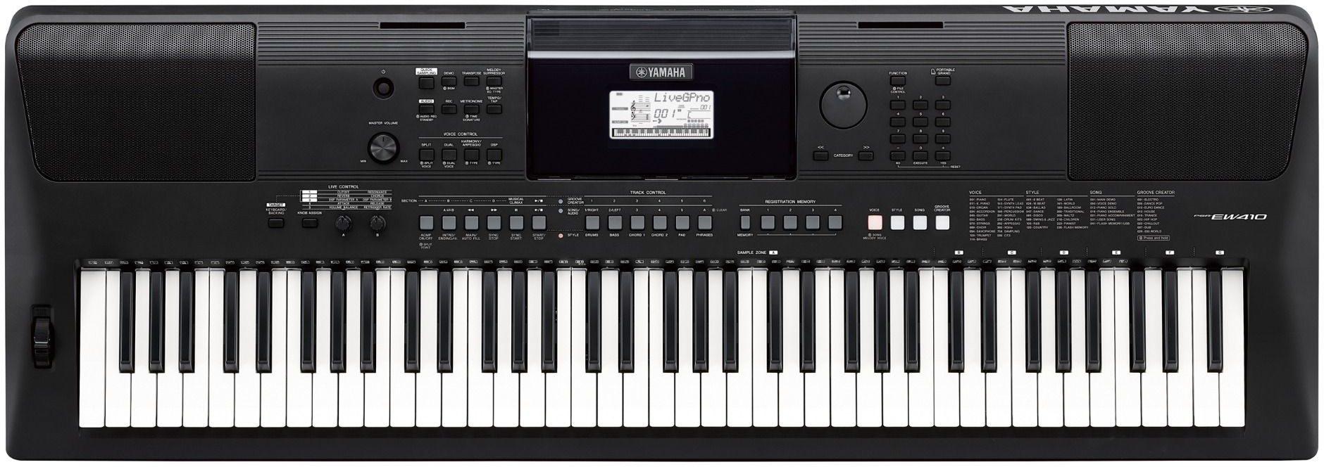 Синтезатор Yamaha PSR-EW410