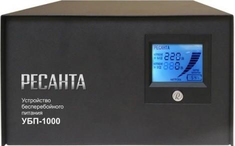 ИБП Ресанта УБП-1000 (С АКБ 55AH 24V AGM-Безвредный)