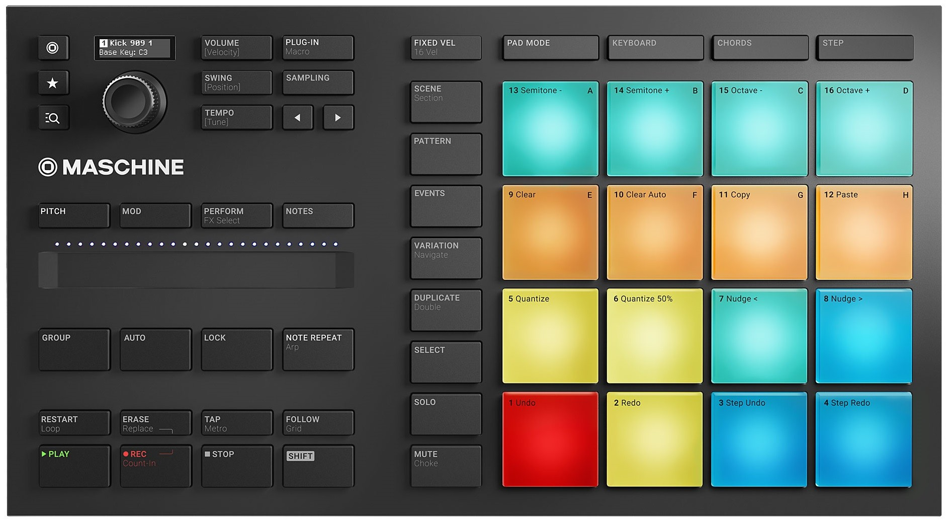 Dj-контроллер Native Instruments Maschine Mikro Mk3