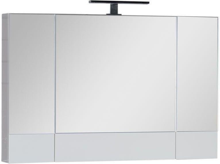 Зеркало-шкаф Aquanet Нота 100 белый 100x67x14 см