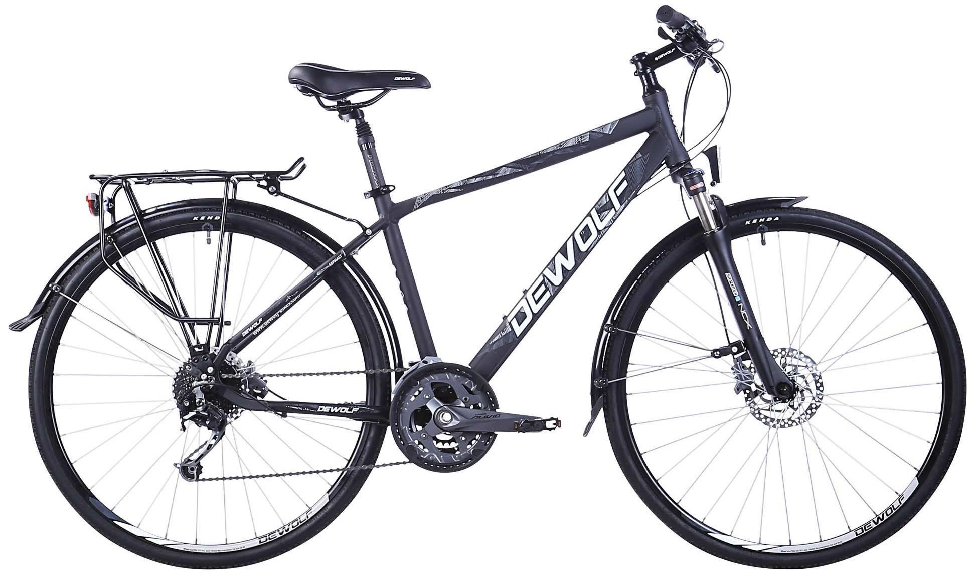 """Велосипед Dewolf Asphalt 1 серый 28"""""""