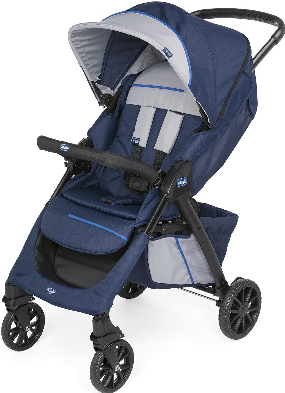 Коляска Chicco Kwik.One Stroller Blueprint