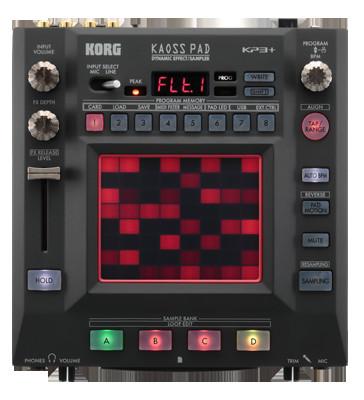 Dj-процессор эффектов Korg Kaoss Pad KP3+