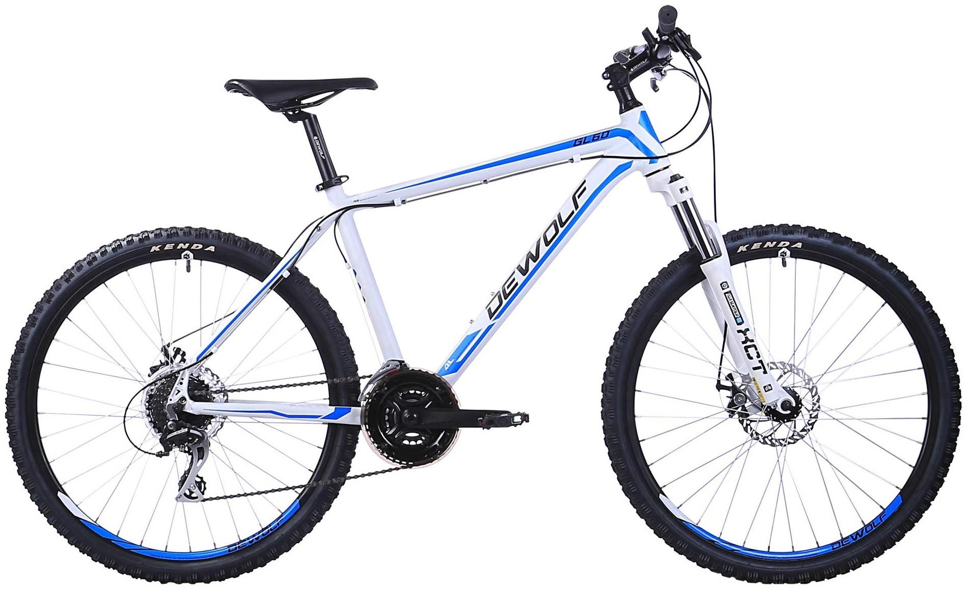 "Велосипед Dewolf GL 60 White/Blue 26"""