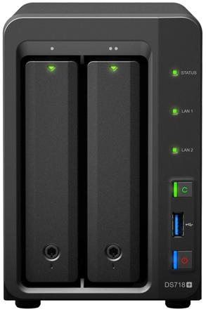Сетевое хранилище Synology DiskStation DS718+