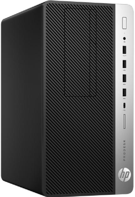 Компьютер HP ProDesk 600 G5 MT 3GHz/8Gb/512GbSSD/W10 Black