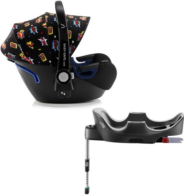 Автокресло Britax Roemer Baby-Safe2 i-Size Comic Fun (0-13 кг) + Base Flex