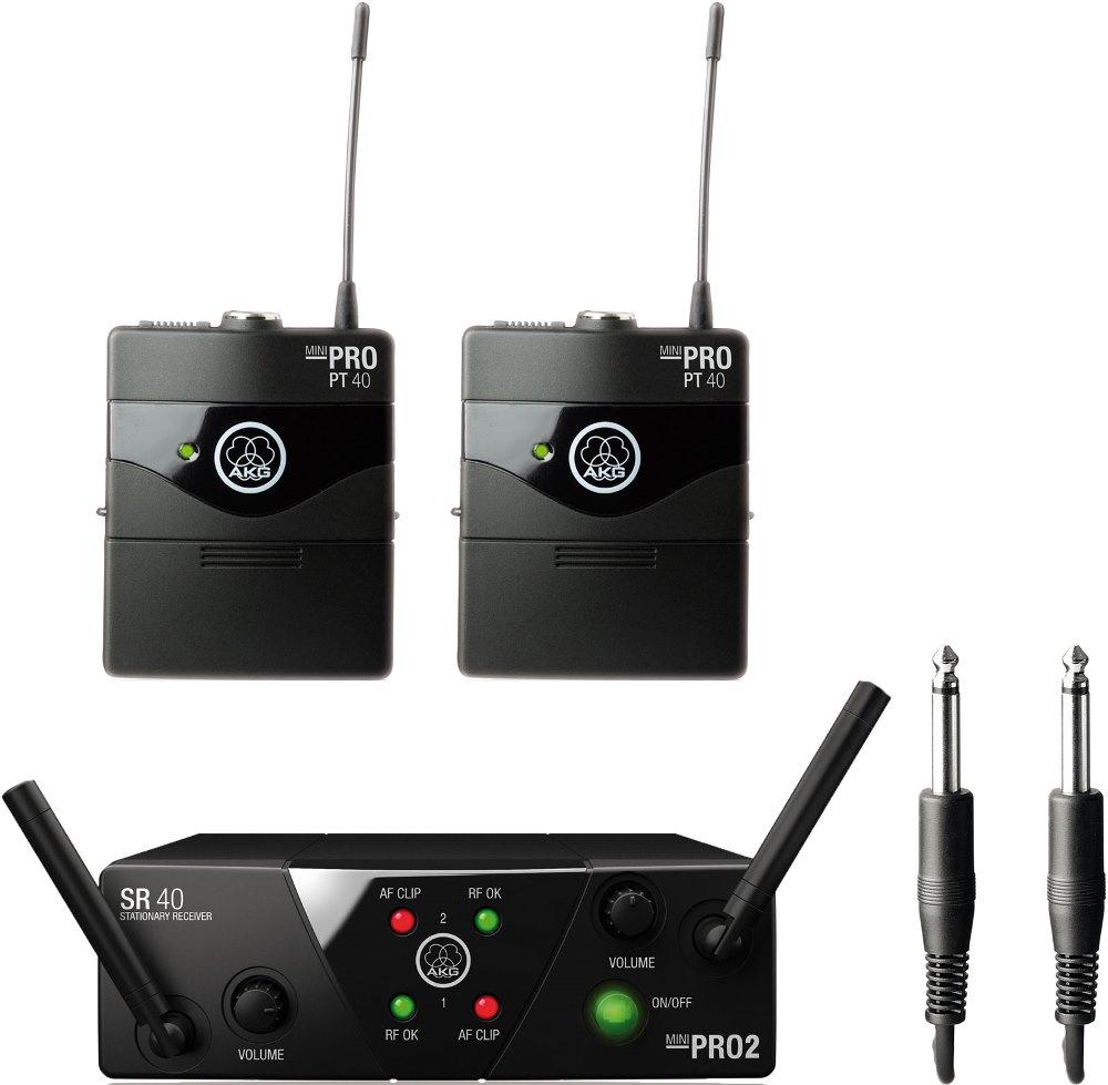 Радиосистема AKG WMS40 Mini2 Instrumental Set BD US45A/C
