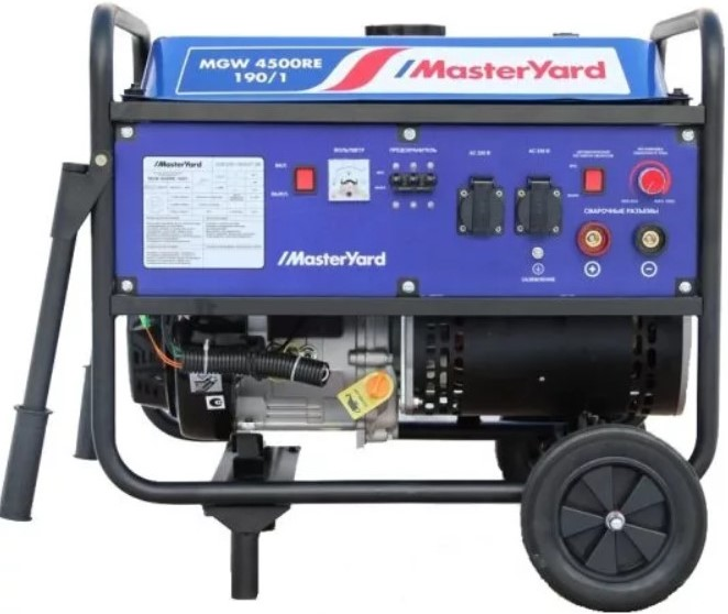 Электрогенератор MasterYard MGW 4500RE-…