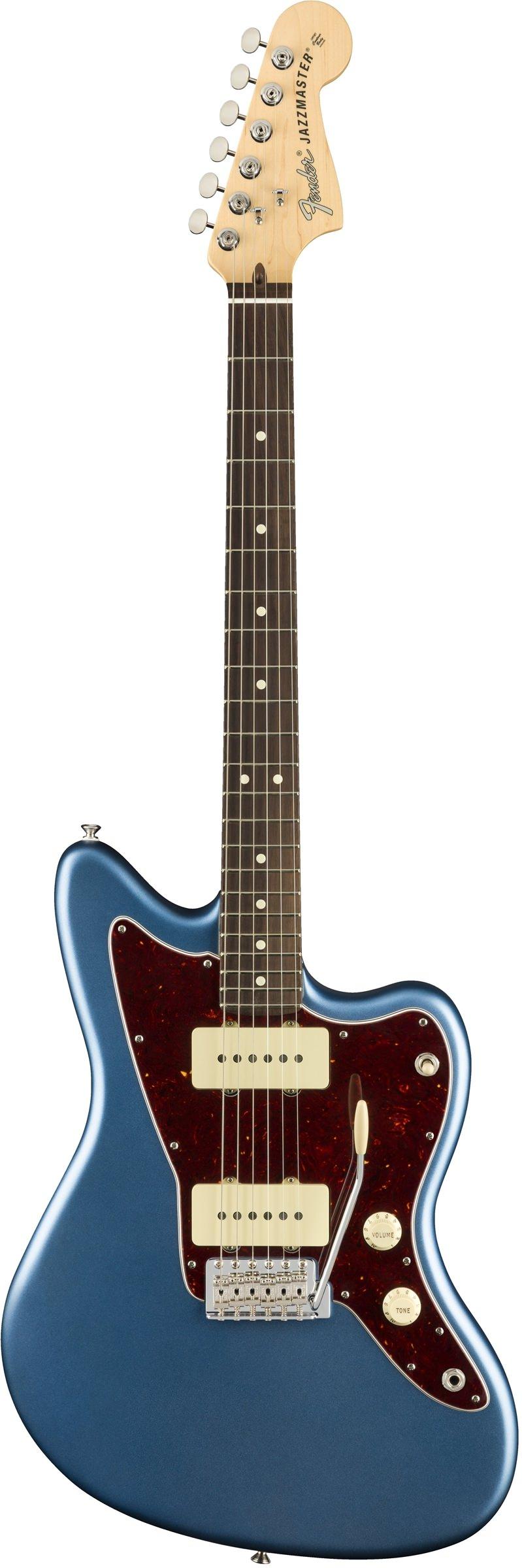 Электрогитара Fender American Performer Jazzmaster Rosewood Fingerboard Satine Lake Placid Blue