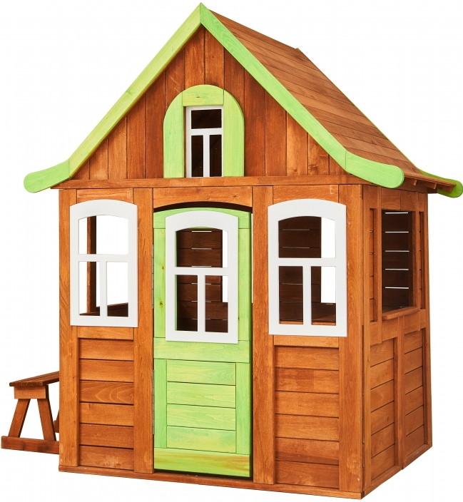 Игровой домик Можга Цветочный зеленый