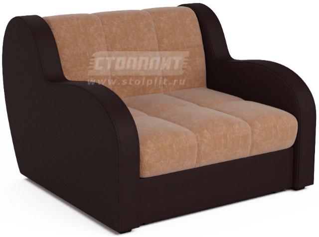 Кресло-кровать Столплит Боро кордрой бежевый 104x96x83 мм
