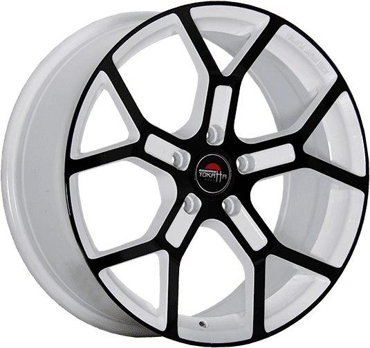 """Комплект дисков Yokatta Model-19 6,5jx15"""" 4/98 ET35 D58,6 W+B/белый + черный"""