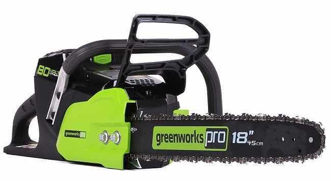 Электропила Greenworks GD80CS50