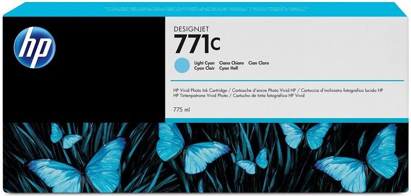 Картридж HP B6Y12A Cyan