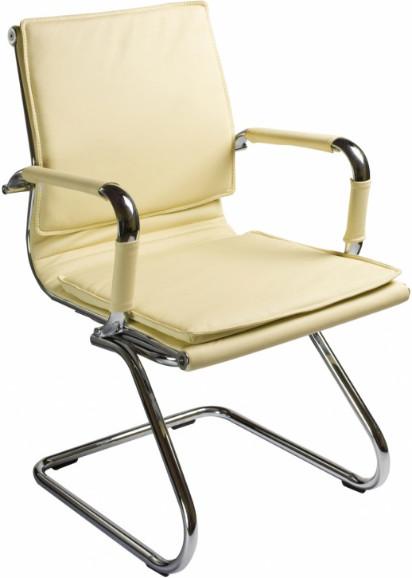 Кресло посетителя Бюрократ CH-993-LOW-V/IVORY слоновая кость
