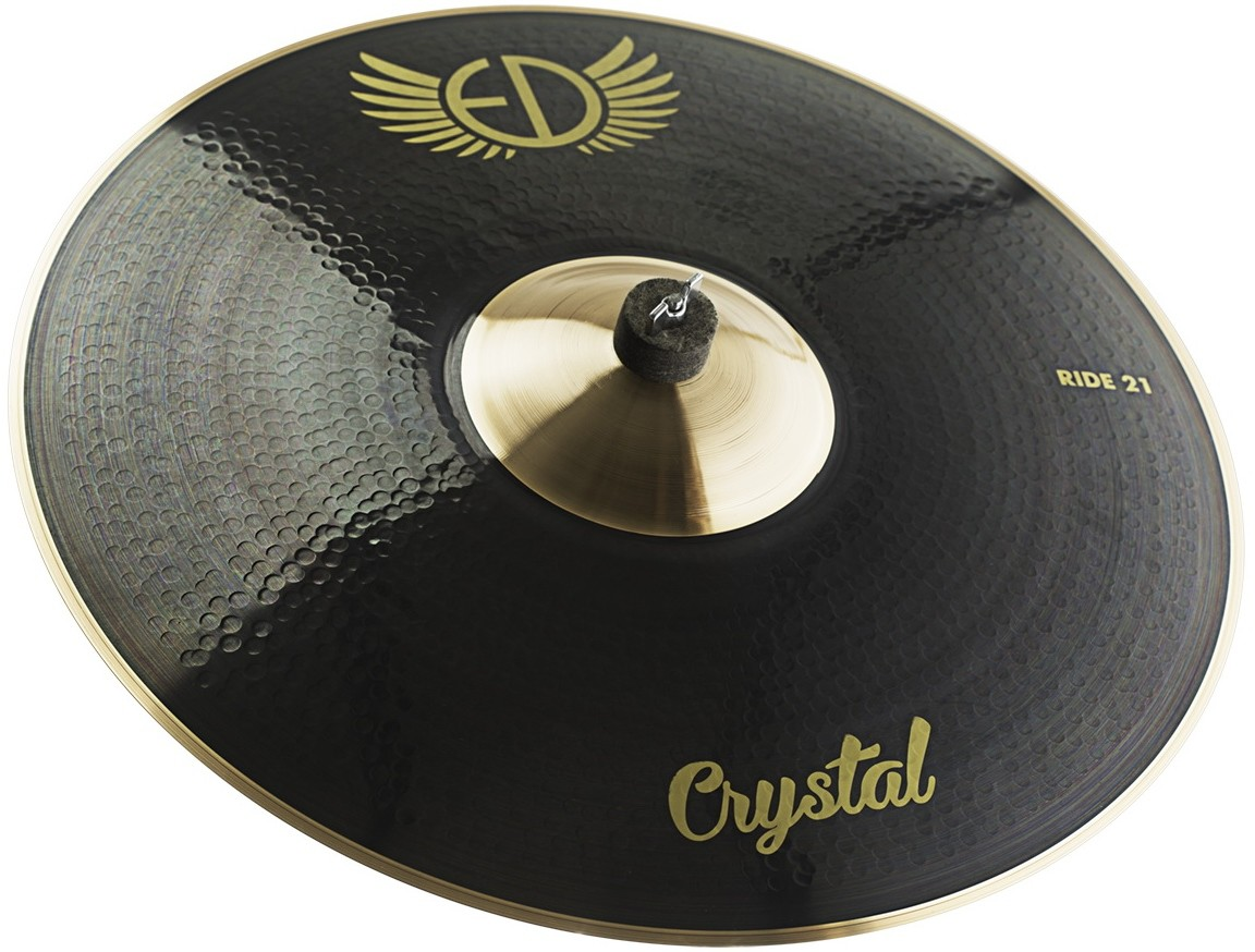 """EDCymbals Ride Crystal 21"""""""