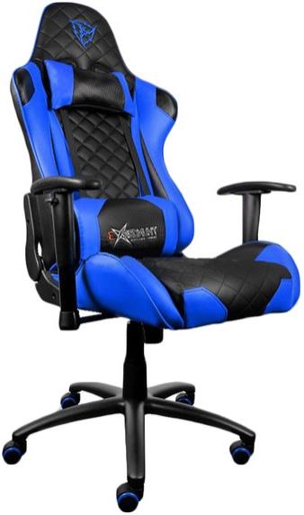 Игровое кресло ThunderX3 TGC12-BB черный/синий