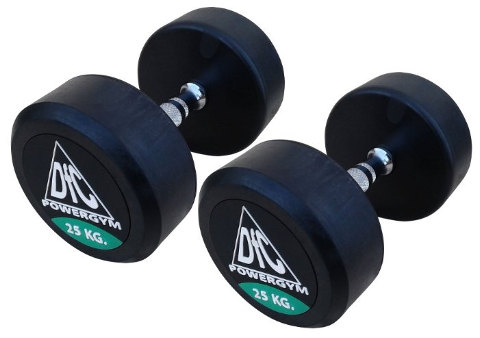 DFC Powergym DB002-25 пара по 25 кг