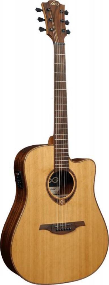 Акустическая гитара LAG GLA T118DCE