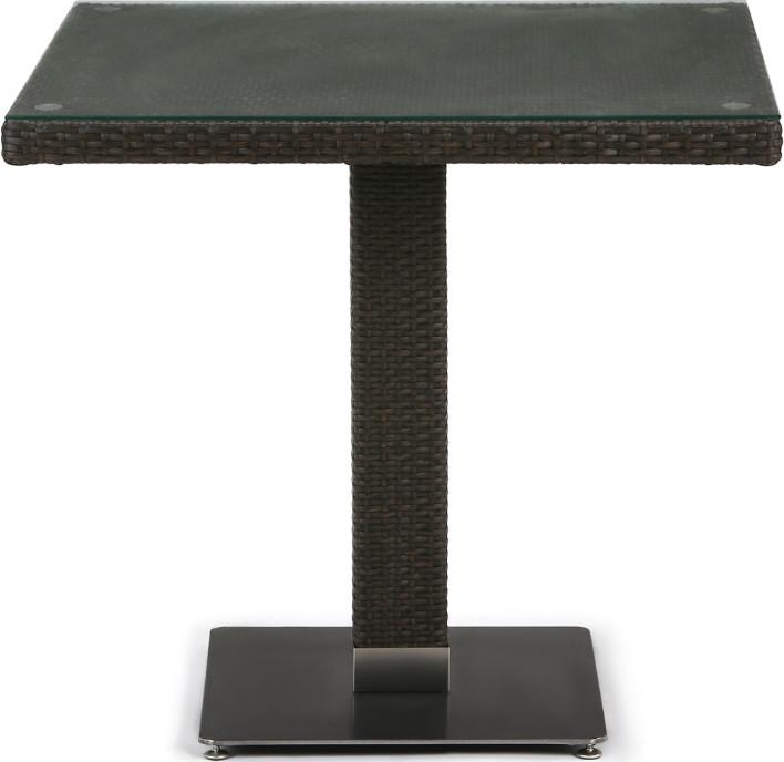 Стол Афина-Мебель T606SWT-W53 коричневый