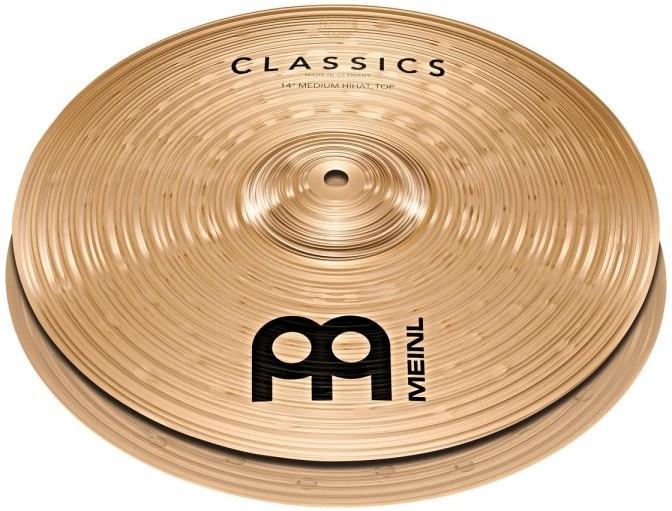 """Meinl Classics Medium Hi-Hat 14"""""""