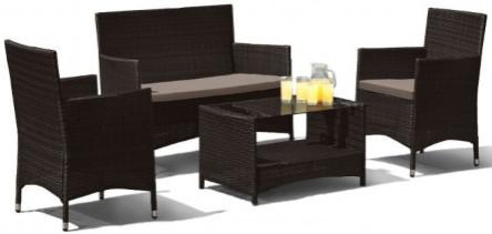 Комплект мебели Афина-Мебель AFM-2025B черный