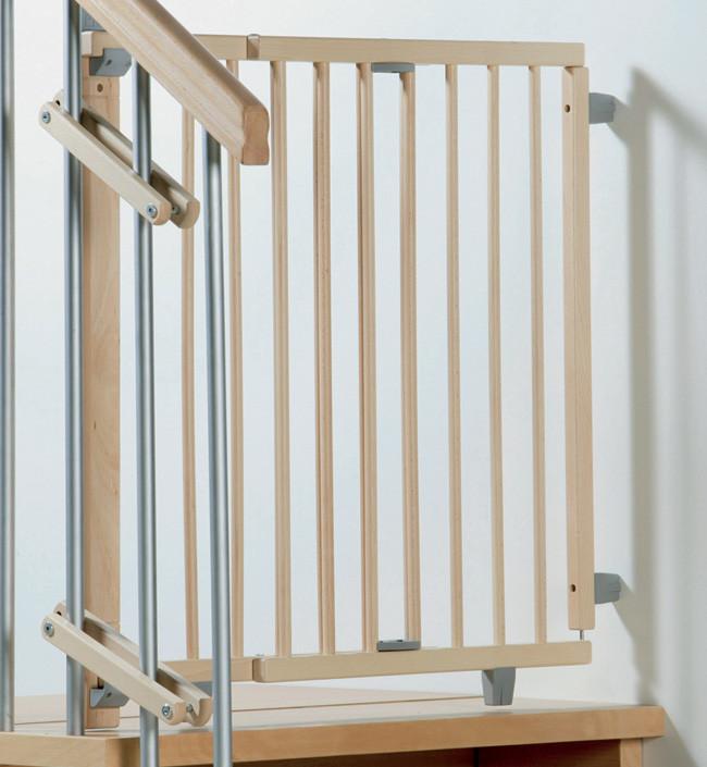 Ворота безопасности Geuther Plus натуральный 93-135 см