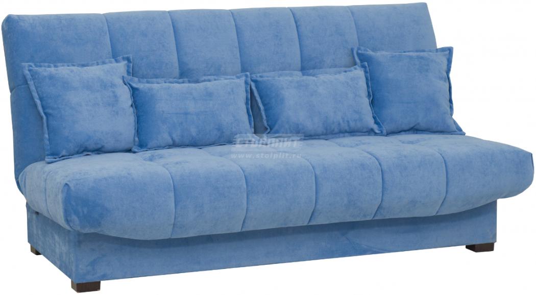 Диван-кровать Столплит Аккорд БД голубой 192x100x95 см
