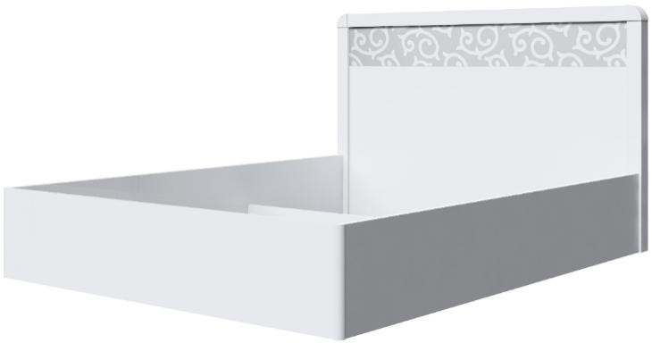Корпус кровати Интердизайн Белла белый/белый 107x169x213 см