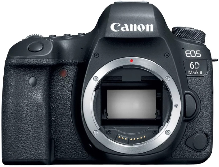 Фотоаппарат Canon EOS 6D Mark II Body Black