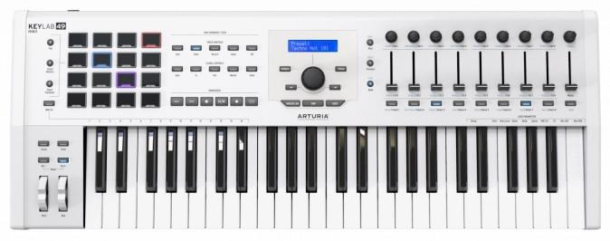 Миди-клавиатура Arturia KeyLab MkII 49 White