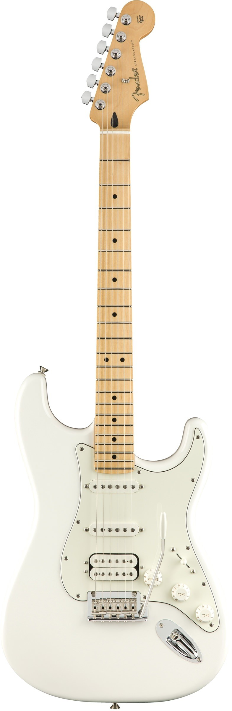 Электрогитара Fender Player Strat HSS MN PWT