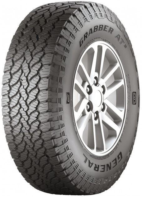 Комплект из 4-х шин General Tire Grabber AT3 235/60 R18 107H FR (Л)