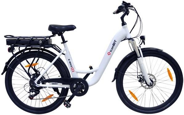 "Электровелосипед iconBIT E-Bike K9 белый 26"""