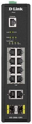 Коммутатор D-Link DIS-200G-12PS