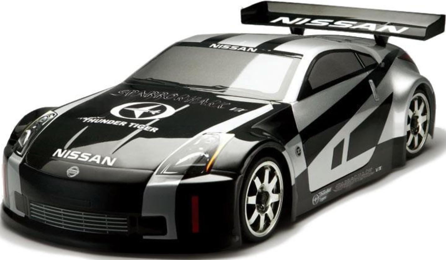 Гоночная машина Thunder Tiger Sparrowhawk VX Nissan 350Z 1:10 Black
