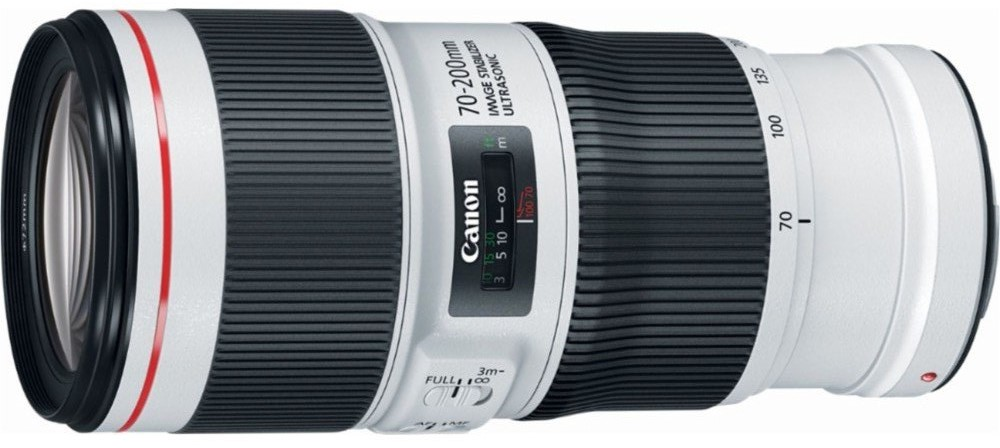 Объектив Canon EF 70-200mm f/4.0 L IS II USM White