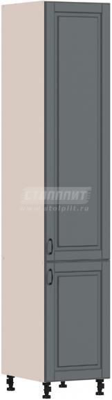 Пенал Столплит Регина 331-345-345-5398 серый матовый 45x237x56 см