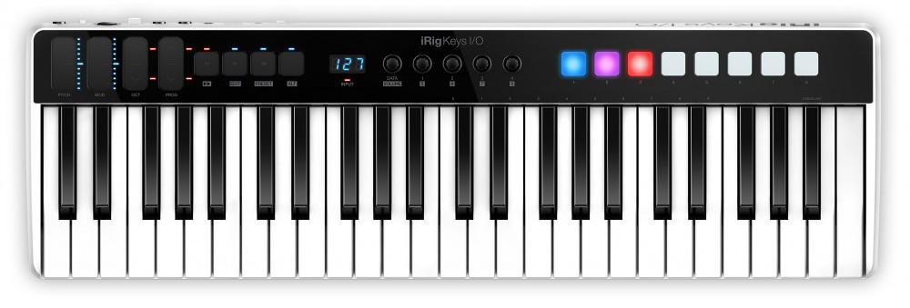 Миди-клавиатура IK Multimedia Irig Keys I/O 49