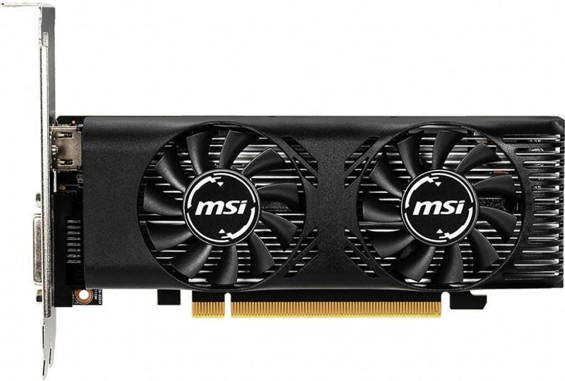 Видеокарта MSI GeForce GTX 1650 LP OC 4Gb