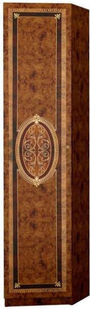 Шкаф Интердизайн Лара 57.804.N коричневый/коричневый 2102x413x580 см