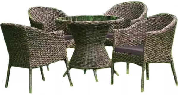 Комплект мебели Афина-Мебель RT-A52 4Pcs коричневый
