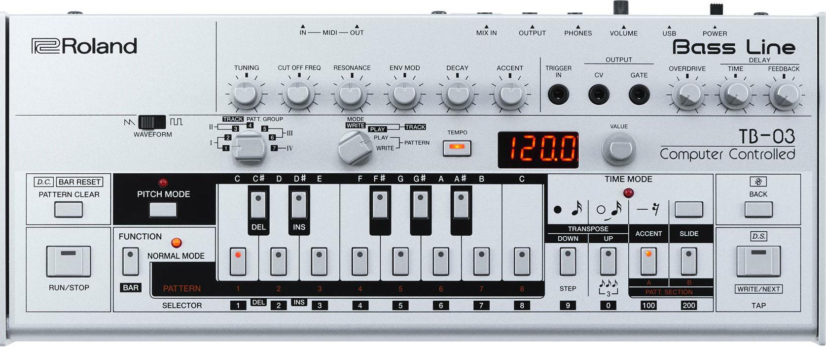 Синтезатор Roland TB-03