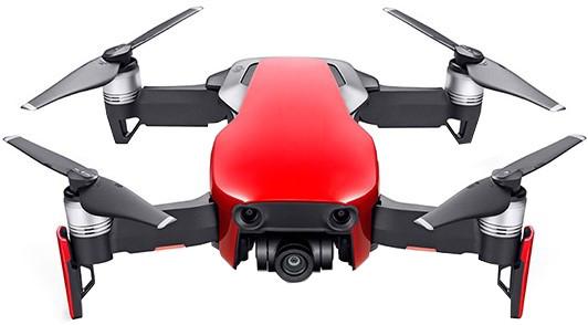 Квадрокоптер DJI Mavic Air Fly More Combo Flame Red