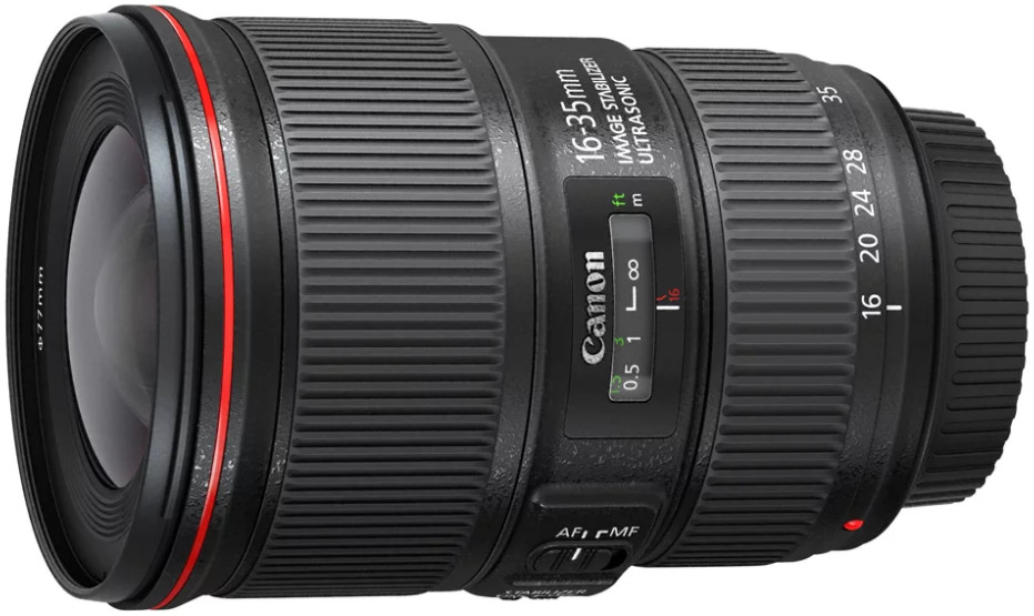 Объектив Canon EF 16-35mm f/4.0 L IS USM Black