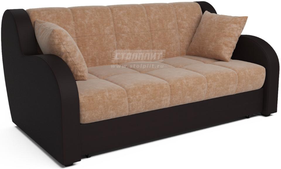 Диван-кровать Столплит Аккордеон Боро кордрой бежевый 172x104x83 см