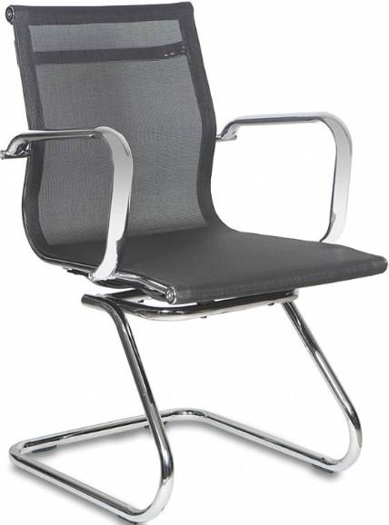 Кресло посетителя Бюрократ CH-993-LOW-V/M01 черный
