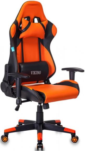 Игровое кресло Бюрократ CH-778N/BL+ORANGE черный/оранжевый