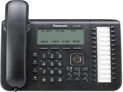IP-телефон Panasonic KX NT546 Black